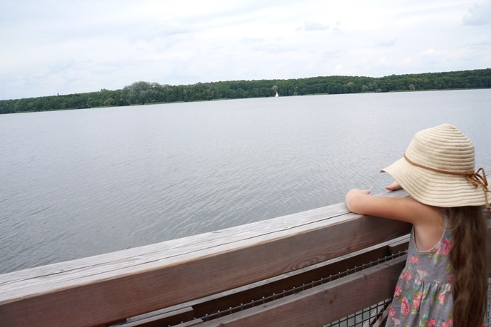 Nasza Wielkopolska: Jezioro Kierskie- molo w Chybach i plaża w Baranowie