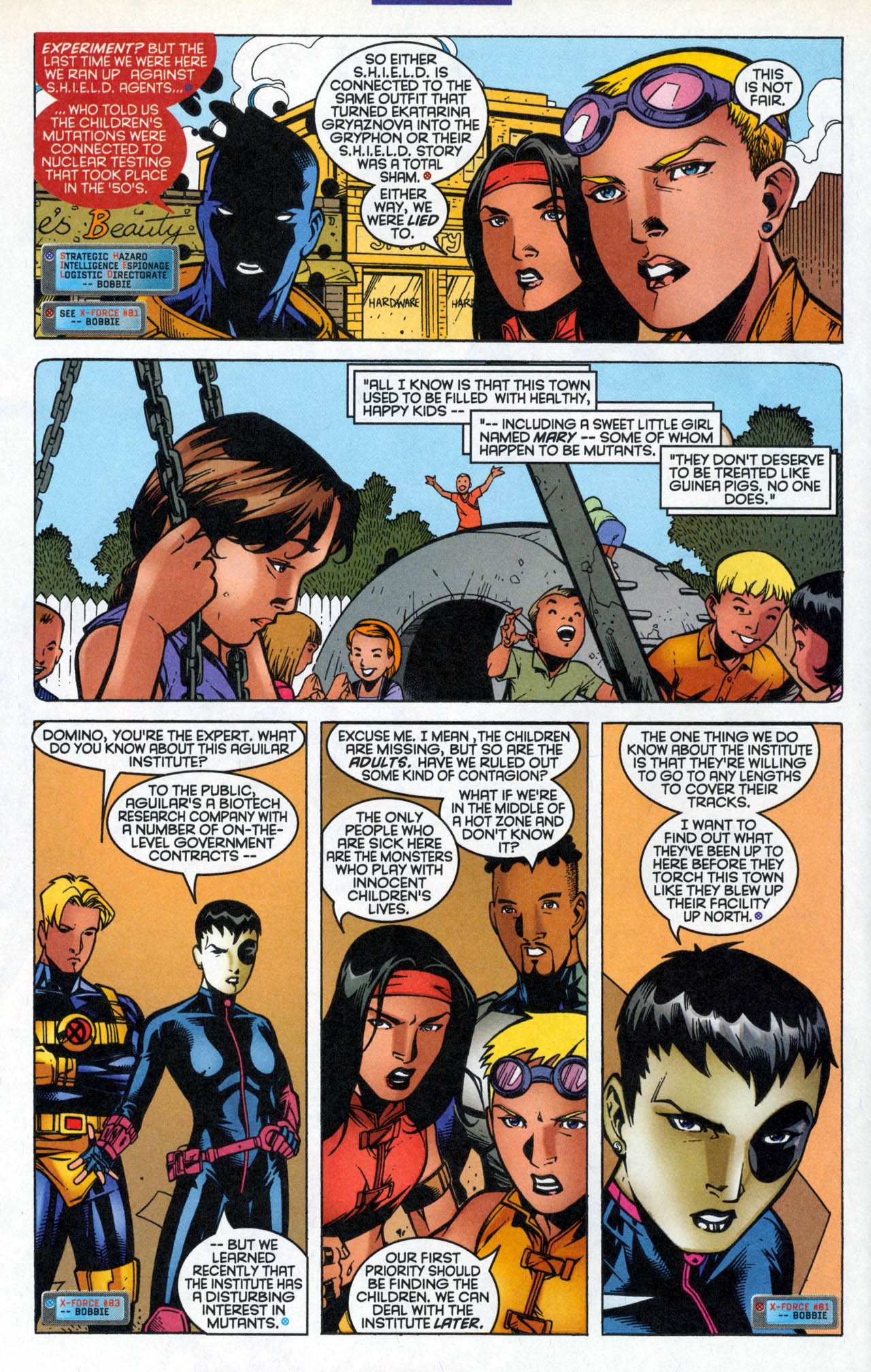 Read online X-Force (1991) comic -  Issue #86 - 9