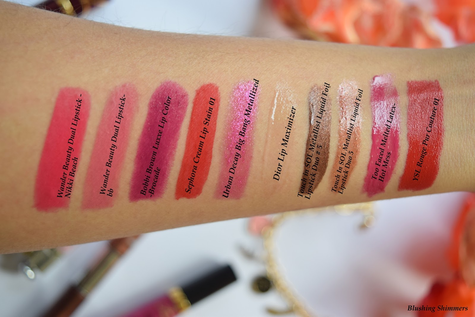 Sephora Favorites Give Me More Lip Set swatches