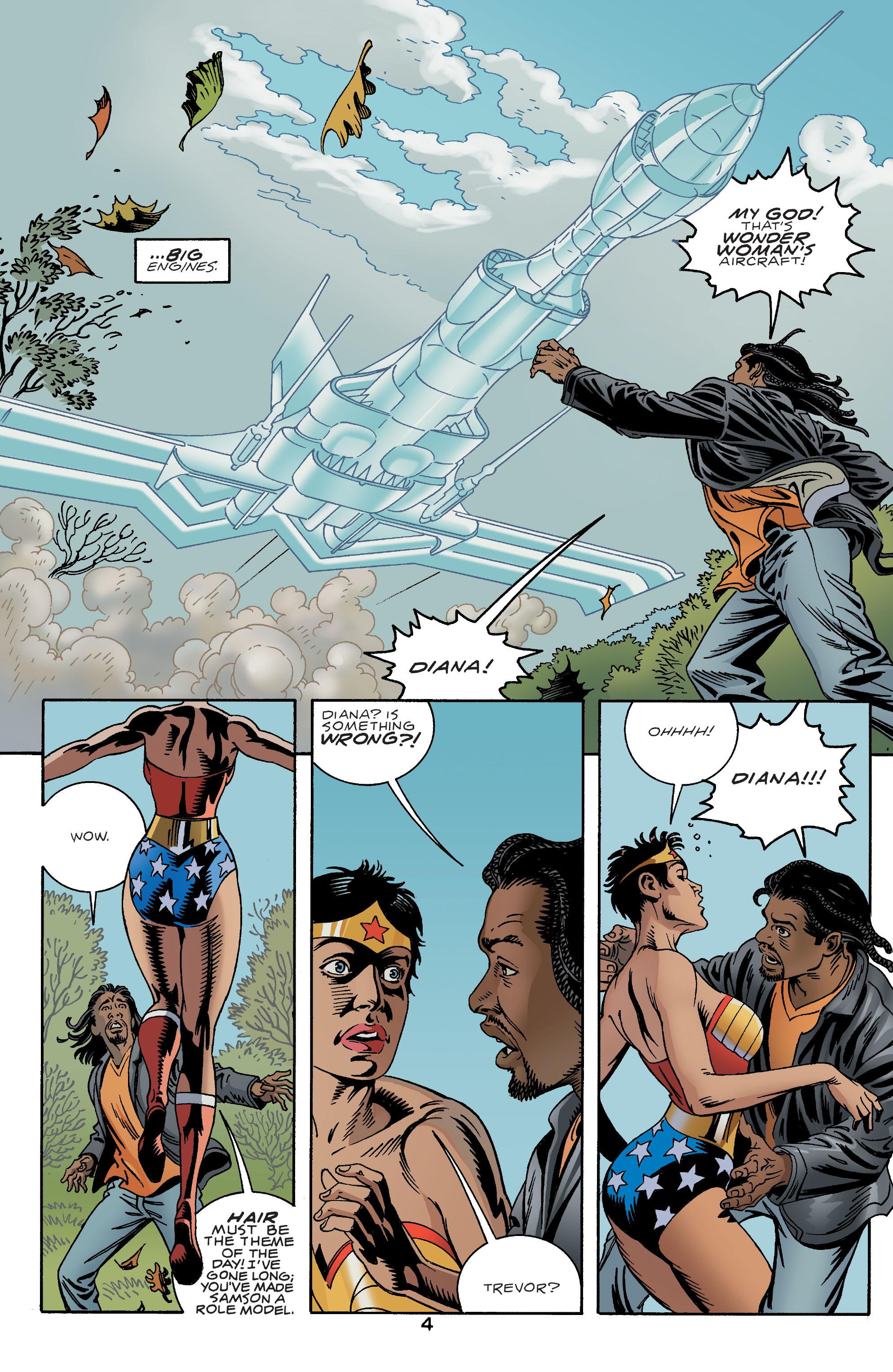 Read online Wonder Woman (1987) comic -  Issue #192 - 5