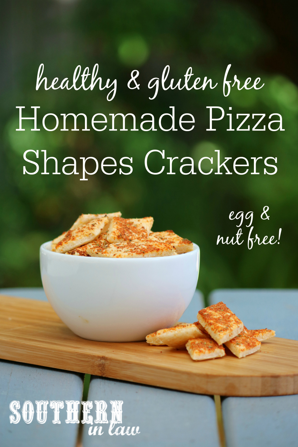Southern in law recipe easy homemade pizza shapes crackers gluten easy homemade pizza shapes recipe arnotts biscuits australia day australian gluten free forumfinder Choice Image
