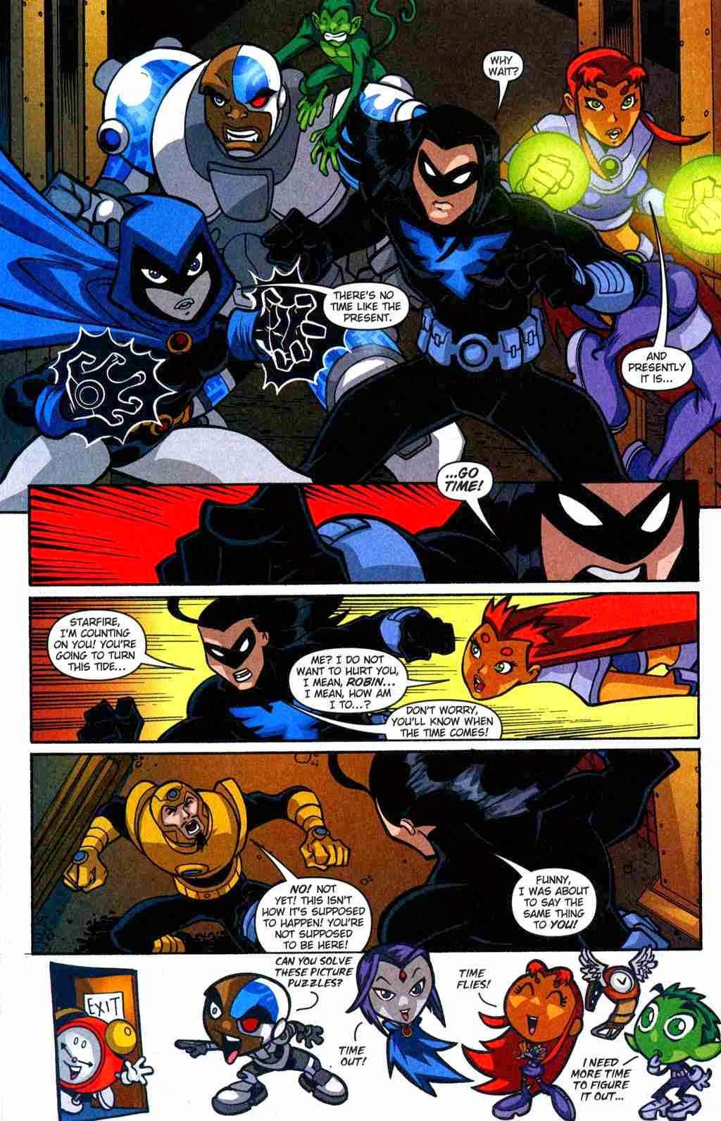 Teen Titans Go Comic Book Series Teen Titans Go Issue -6136