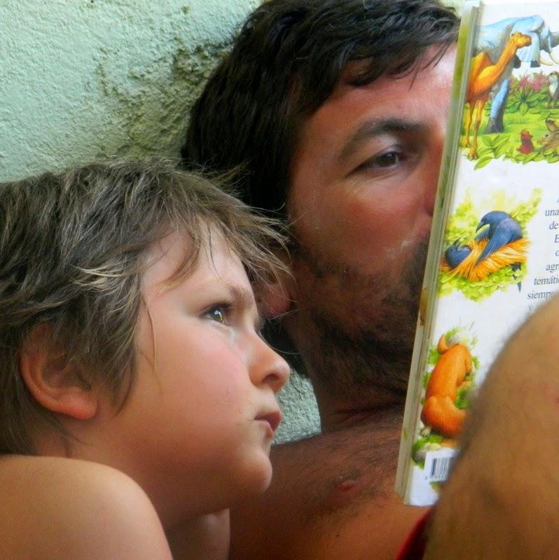 Mi hijo el lector.