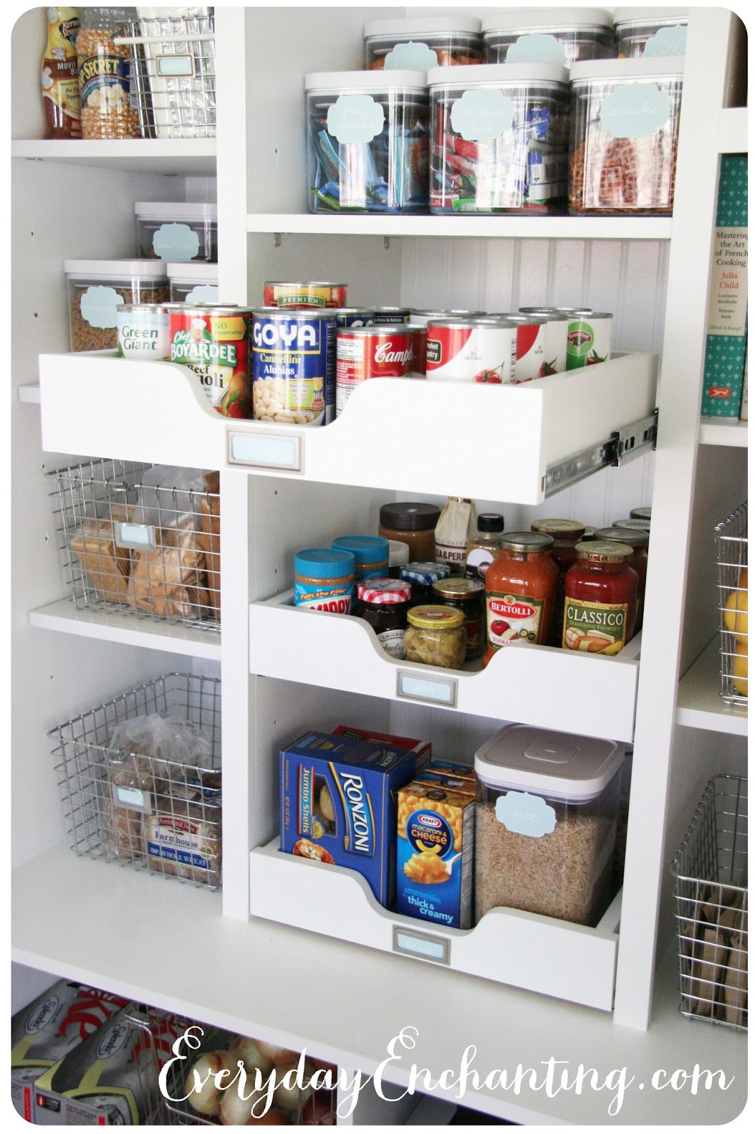 Organized Reader: Super cute and organized pantry ...