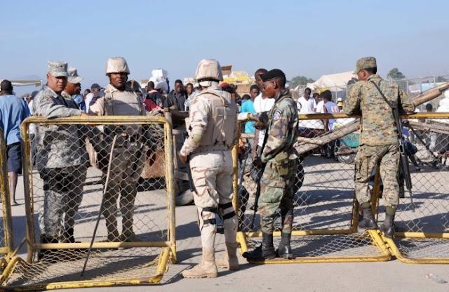 Dominicana refuerza frontera con Haití
