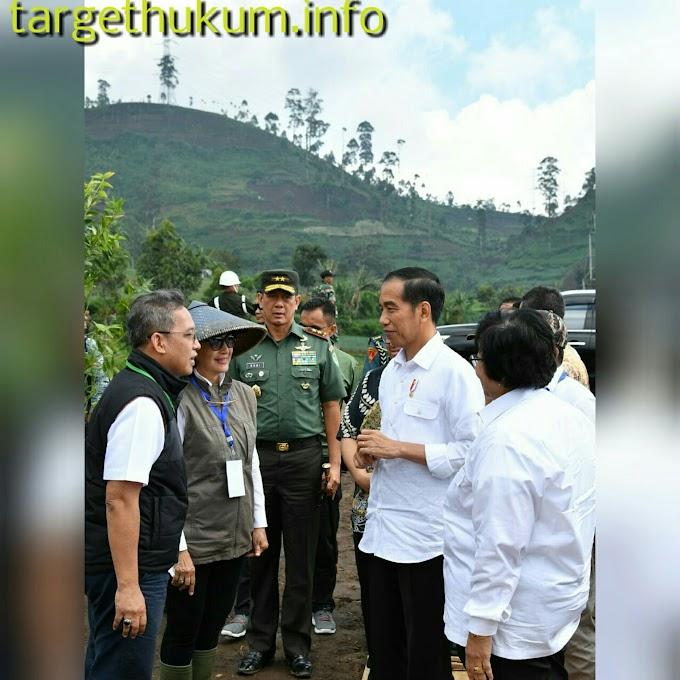 Presiden Jokowi Perkirakan Sekitar 7 Tahun Selesai Untuk Revitalisasi Daerah Aliran Sungai (DAS) Citarum