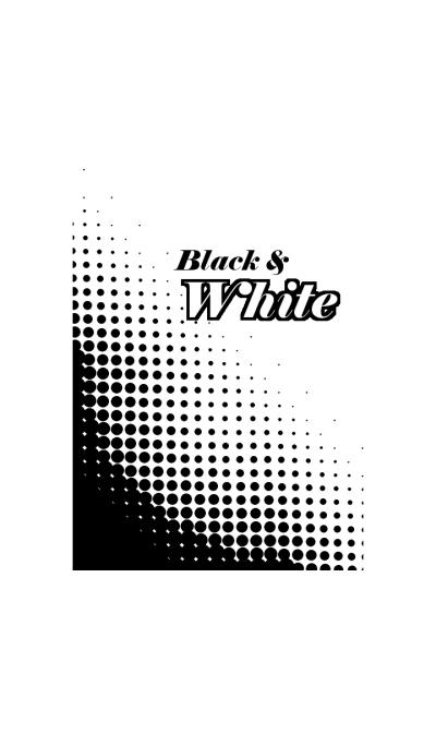 Black & White (Dot)