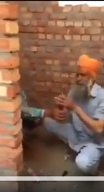 In Punjab drugs addiction cuts across generation and gender.  A video that has surfaced shows an elderly Sikh man injecting heroin into his forearm in a Punjab village.  A group of addicts of different ages and seen huddled in a small room, waiting for their turn to get a fix.