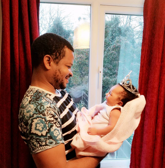 NOLLYWOOD ACTRESS SUGAR CHIKA SHARES LOVELY PHOTOS OF HER HUSBAND AND THEIR NEW BORN BABY (PHOTOS)