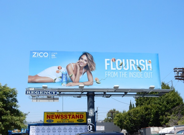 Flourish from the inside out Zico billboard