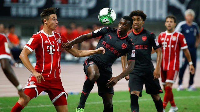 Arsenal Menang Atas Bayern Lewat Adu Penalti