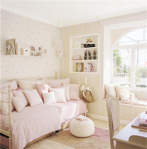 Decora tu habitación juvenil en color rosa