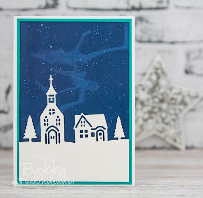 Hometown Greetings Christmas Card - get everything you need to make this card here
