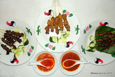 Photo of food from Saté Kampar ©Reese Amorosi 2015