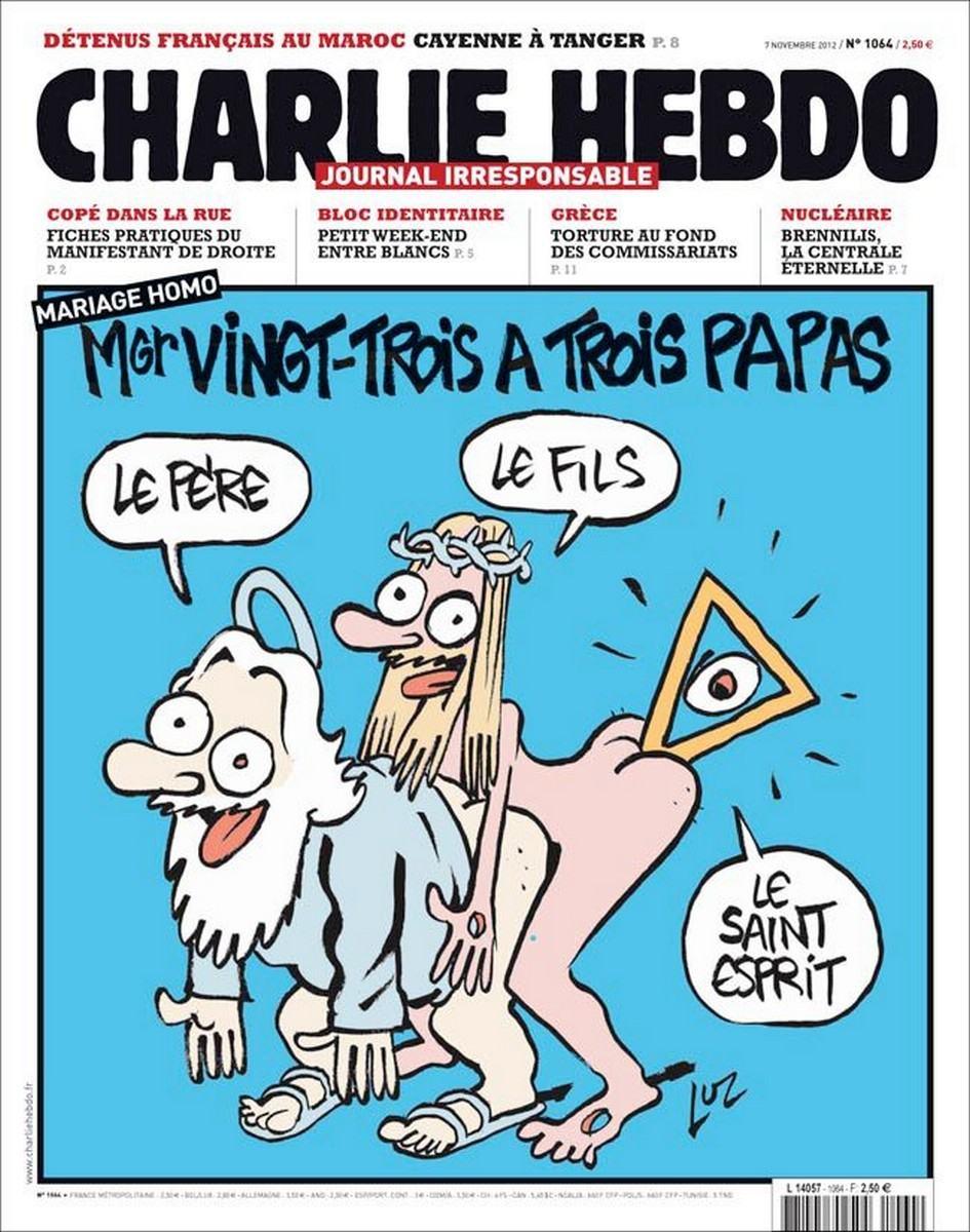 Copertină Charlie Hebdo