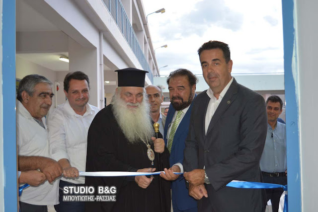 Δ.Μπαξεβανάκης: Το κέντρο ρομποτικής στο ΕΠΑ.Λ. Ναυπλίου αποτελεί ένα ακόμα βήμα αναβάθμισης της Επαγγελματικής Εκπαίδευσης