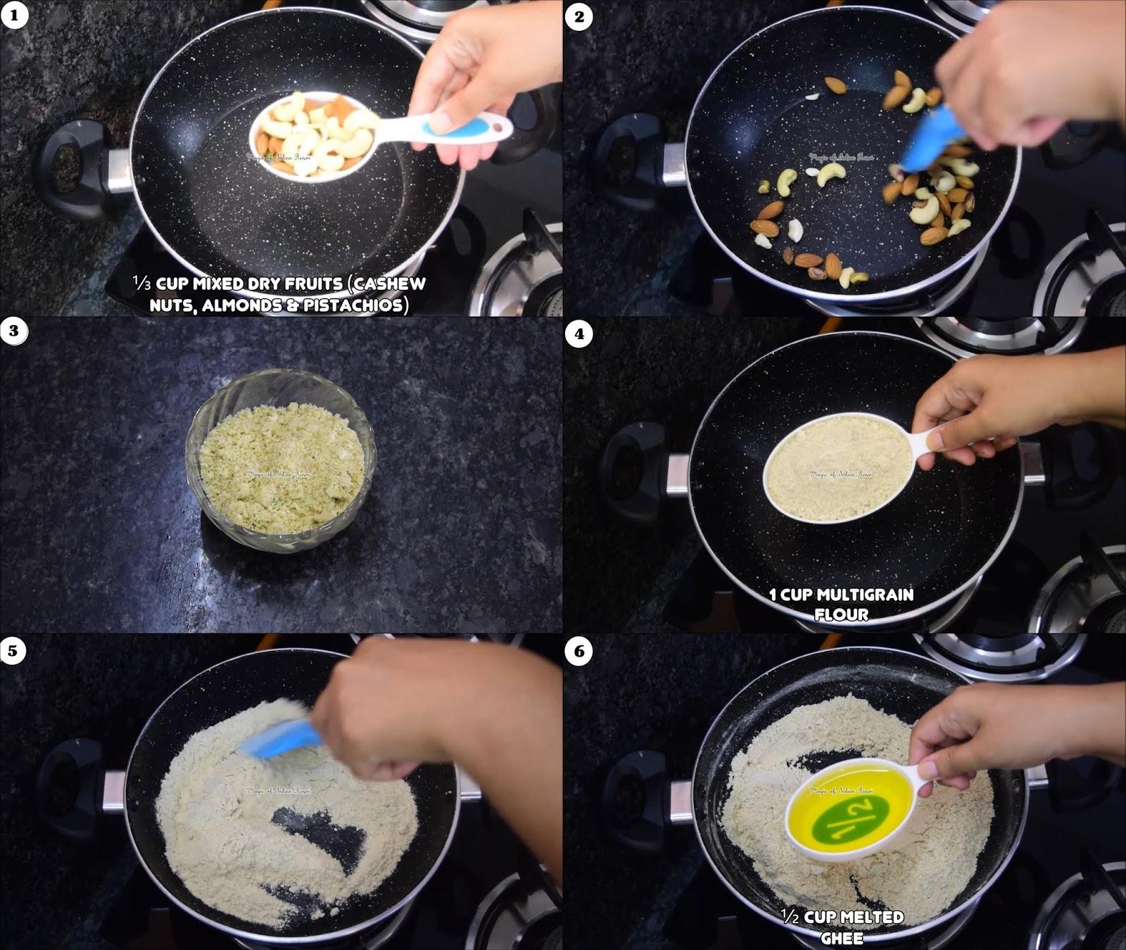 Multigrain Ladoo Recipe - 2