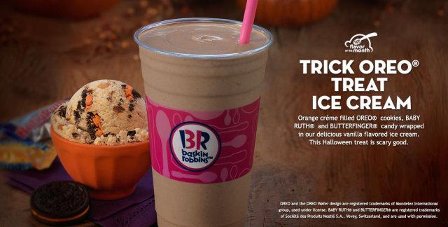 Oreo 'n Cake Is Baskin Robbins' Flavor of the Month!