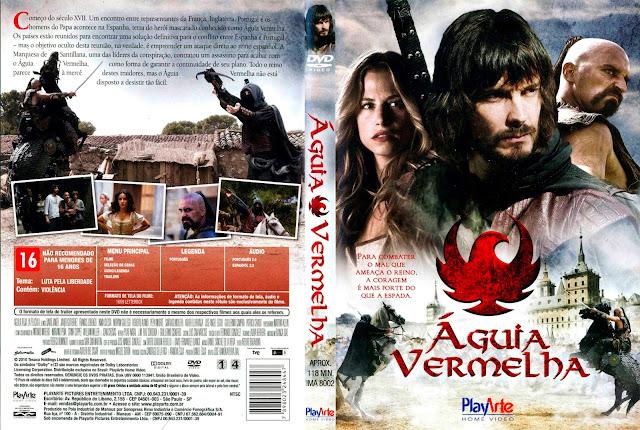 Capa DVD Águia Vermelha