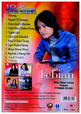 Febian - Bulan Jinak Jo Matohari Full Album