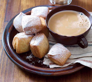 pumpkin pie spice beignets recipe