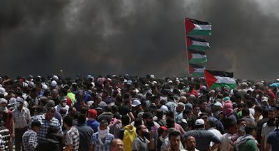 رصاص الاحتلال بقطاع غزة يحصد 112 شهيدا وأكثر من 13 ألف مصاب