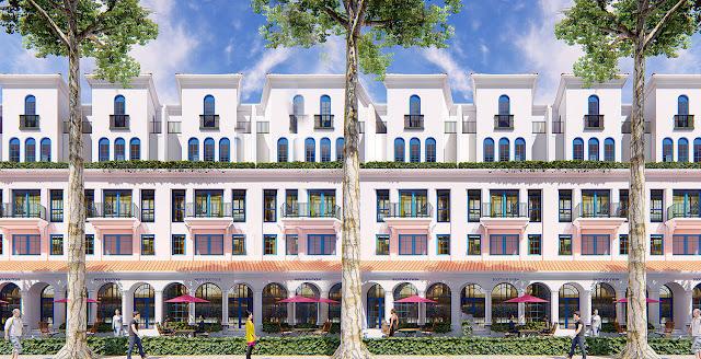 Thiết kế biệt thự song lập Sunshine Wonder Villas khu đô thị Ciputra Tây Hồ