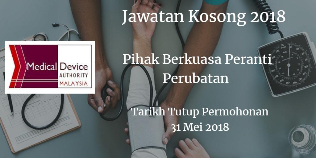 Jawatan Kosong KKM 31 Mei 2018