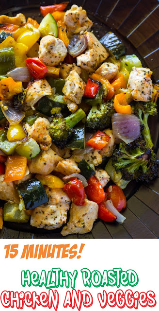 Healthy Roasted Chicken and Veggies