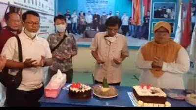 Rayakan Ultah Ketua JTR dihadiri Ketua PWI dan Mantan Ketua PWI Kota Tangerang