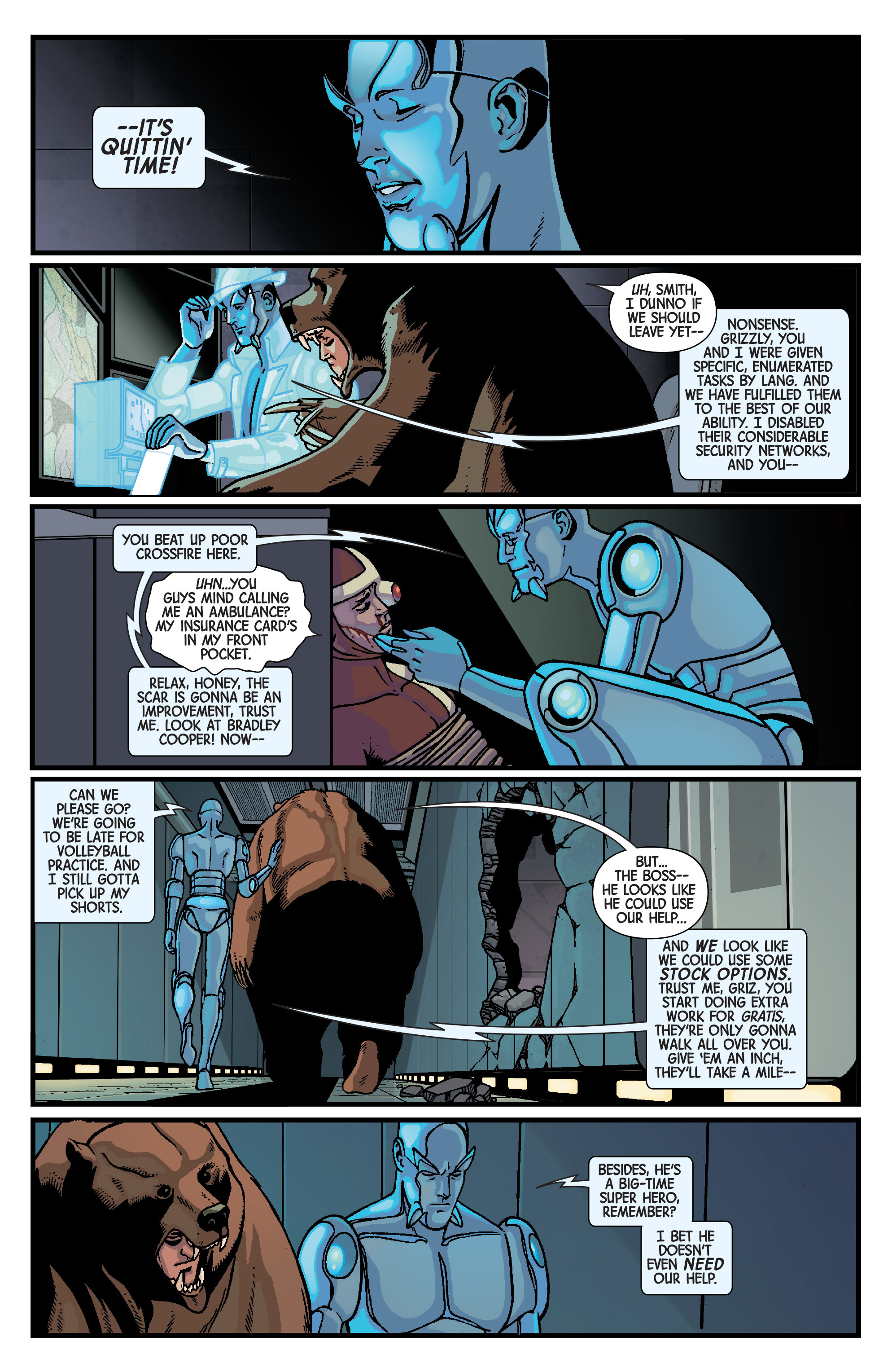 Read online Ant-Man comic -  Issue #5 - 11