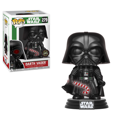 Pop! Star Wars - Holiday! vader