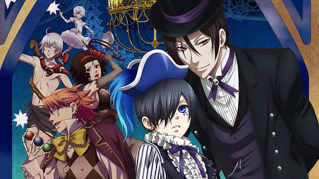Black Butler Book Of Circus Sub Indo