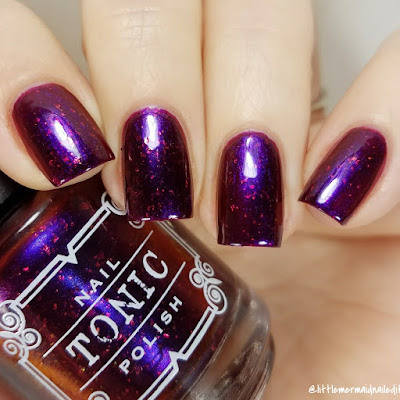 Tonic Polish Superstar Holiday Duo Swatches and Review