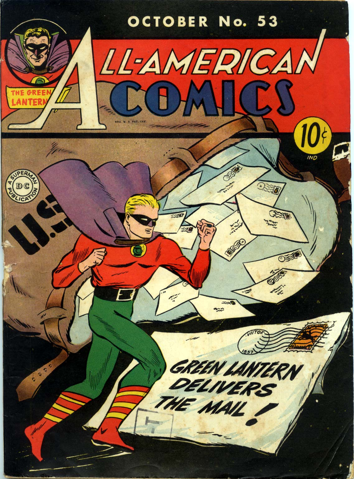 Read online All-American Comics (1939) comic -  Issue #53 - 1