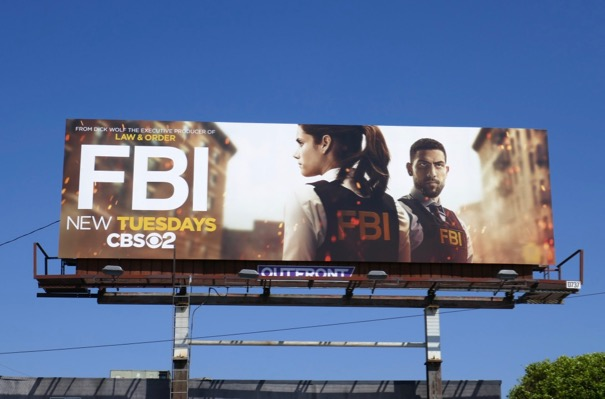 FBI series premiere billboard