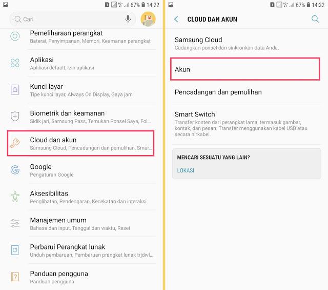 Cara Menghapus Akun Gmail di HP Android Samsung 12