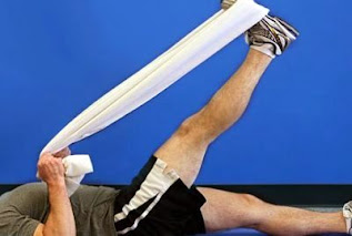 melatih dnegan latihan calf muscle