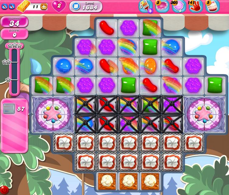 Candy Crush Saga 1684