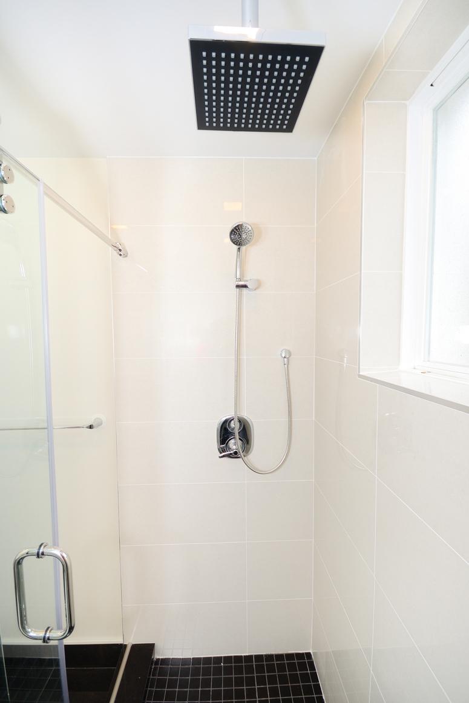 contemporary washroom reno