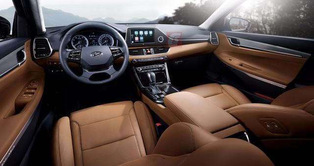 Hyundai Azera 2018 Xe Hyundai Azera 2018 thế hệ mới sắp ra mắt 5