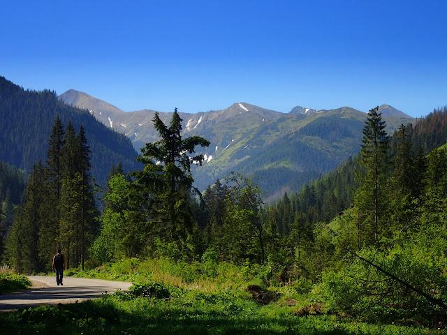 Widoki z Doliny Chochołowskiej