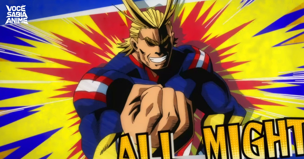 All Might é baseado no Goku!