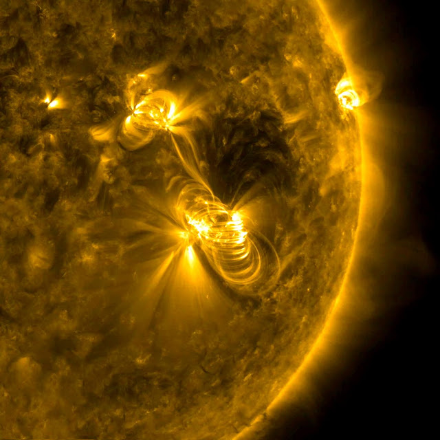 Solar Flare and a Coronal Mass Ejection