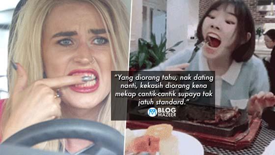 Lelaki Tahu Komplen Je! Diorang Tak Tahu Cabaran Wanita Bila Pakai Mekap Kat Malaysia Ni