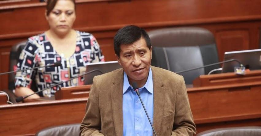 Congreso aprueba levantar inmunidad a fujimorista Moisés Mamani, a pedido del Poder Judicial por el presunto delito de tocamientos indebidos