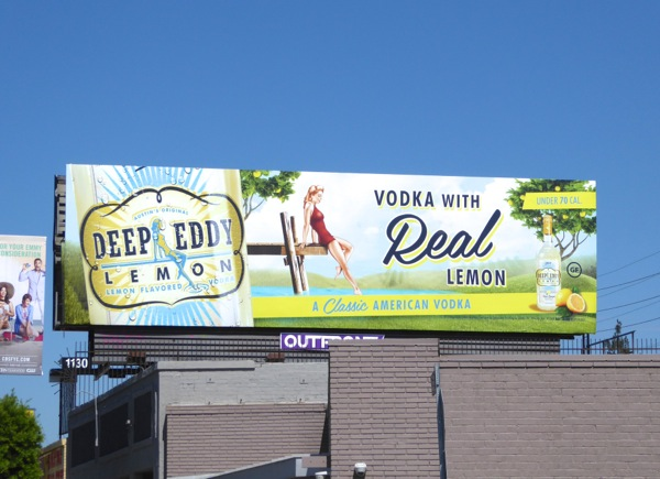 Deep Eddy Lemon Vodka billboard