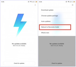 Cara Flashing ROM Xiaomi dengan Fastboot dan Recovery MIUI 9