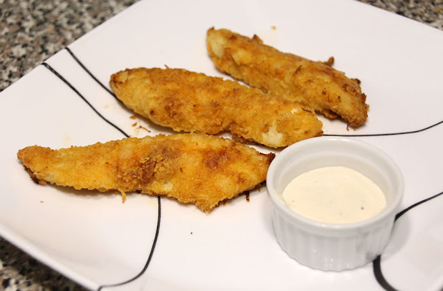 Crispy Baked Chicken Strips