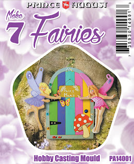 Cast up to 7 fairies with this family craft kit